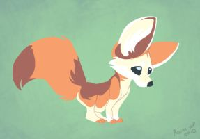 Daily Design: Fennec Fox by sketchinthoughts