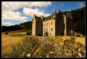 Castle Menzies by SnapperRod