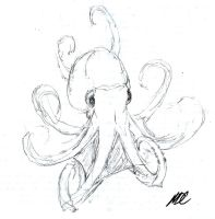 OCTOPUS SKETCH by MDC-PRODUCTIONS