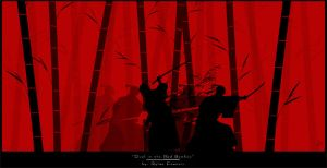 Duel in the Red Bamboo by NightAliveR