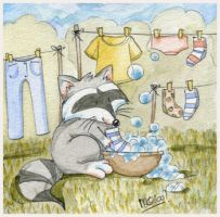 Washing day by yuki-the-vampire