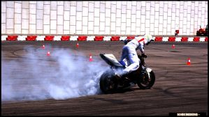 Suzuki GSXR Burnout - N3OX D. by DjN3oX