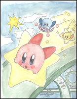 Kirby Air Ride by sasukekakashi12