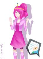princess bubblegum by raaputri