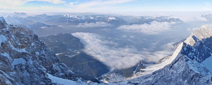 View from Zugspitze II by da-phil