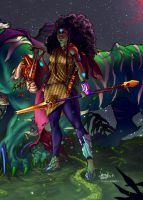 Bandit Queen color by 133art