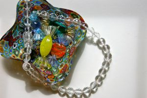 Glass Crystal Necklace by TransparentDream