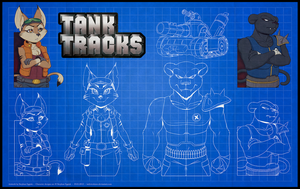 Digi Design - Tank Tracks Characters by Indivicolours