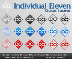 Individual Eleven Icons by zardos-demon