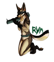 Ryn Badge Commission by Riokou