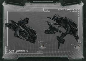 Rim City - Mutant Submarine by AtomicoProject