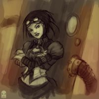 Lady Mechanika by MAROK-ART