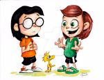 Marcie and Peppermint Patty by JAMES-POWELL