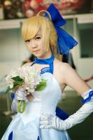 AFA'12 - Saber Lily by macross-n