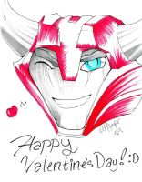 TFP: CliffJumper Happy Valentine's Day! by BlueFire795