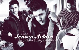 Jensen Ackles for Harper's Bazaar China by LiFaAn