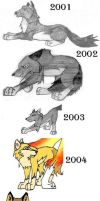 Wolfy's Art: 2001-2004 by wolfsilvermoon