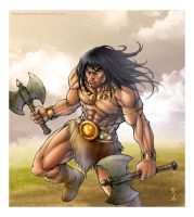 Conan - The Barbarian by SUPERANDER