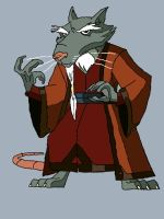 master splinter by brawl9977
