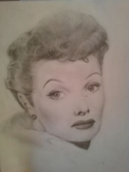 Lucille Ball, by REVOLCCLOVER
