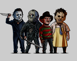 Slasher Squad by SamRAW08