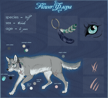 RS - Flora wolf OLD by Ali-zarina