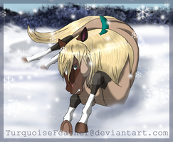 .::Snow Day::. by TurquoiseFeather