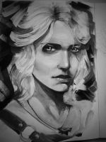 Ciri from witcher 3 by mojo123s