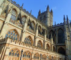 Bath - Bath Abbey by PhilsPictures