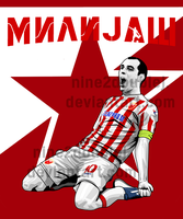 Nenad Milijas Red Star Belgrade by nine2doubleJ