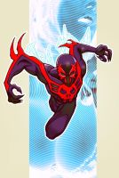 spider-man 2099 by m7781