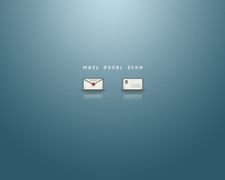 Mail Pixel Icon by Lymos