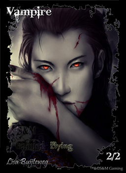 Official Vampire Token by SandM-Gaming
