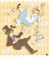 A Mad Tea Party by Mangaka-chan