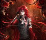 Kuroshitsuji: Grell Sutcliff (close up) by K-Koji
