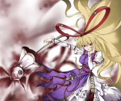 Yukari The Unknown by Chaotic-Unknown