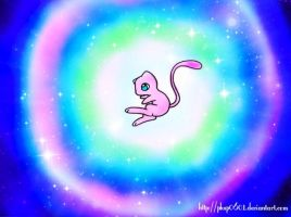 Mew Used Dazzling Gleam by Gemini-0601