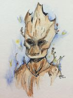 I Am Groot! by TemperTempest