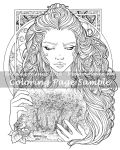Art of Meadowhaven Coloring Page: Timeless by Saimain