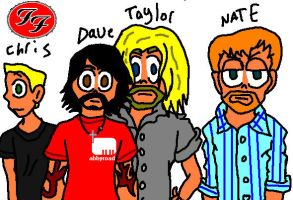 Foo Fighters by BillyBCreationz