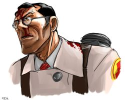 tf2- medic blood by yang