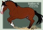 Mustang Stallion Adoption 2 by JNFerrigno
