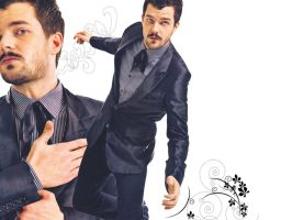 Brandon Flowers - With Swirls by Miniforce