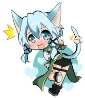 Sinon Chibi-2 by Yuries