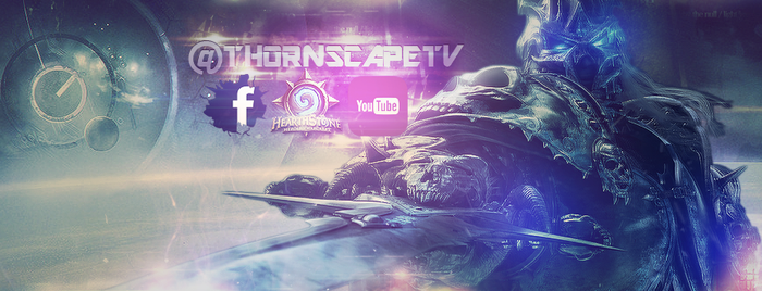 Lich King Banner for @ThornscapeTV by VongolaIriezzPhox