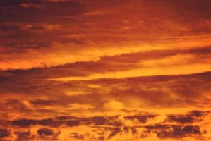Fire sky stock by EliseEnchanted