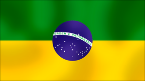 Alt. Brazilian flag 2 by AY-Deezy