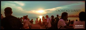 Crowded Paseo del Mar Sunset by uncannyNuncertainty