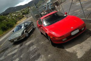 Toyota MR2's 02 by Mad-Murphy