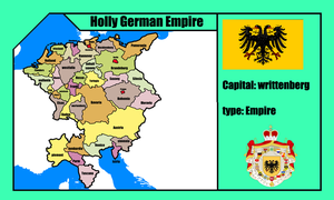 Holly german empire (mapping) by DimLordofFox